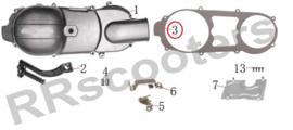 Neco Alexone - Kickstartdekselpaking (nr. 3) - (M103001-152QMI-0100) (VAK B-133)