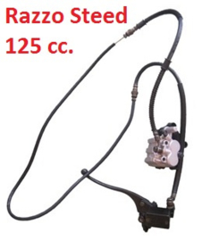 Razzo Steed (125cc) - Achterrem COMPLEET - (F12-01) - (359033)