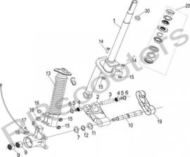 Neco Abruzzi - BUMPER BRACKET (nr. 8) - J08-21600-00