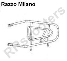 Razzo Milano - Achterdrager ZWART - Nec_81200-JKC2-9000