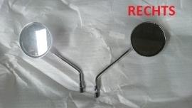 Razzo Venice - Spiegel chroom RECHTS - M8 schroefdraad