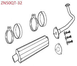 Znen ZN50QT-32 - Uitlaat - 1830A-B08-E100