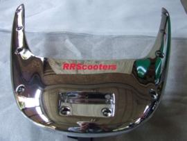 65 - bumper COMPLEET chroom achterzijde boven- en onderkant (VAK C-80)