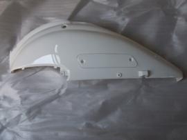 15 - Retro kappenset, achterscherm LINKS, kleur wit