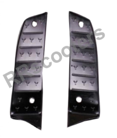 Neco Azurro GP - Aluminium voetplaten (ZWART) - M64340-ALA6-9000BLA