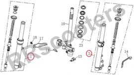Razzo Strike - Schokbreker SET - LINKS & RECHTS - nr. 1 + 2 (MQBE-51520-0000 + MQBE-51510-0000)