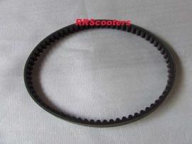 7 - aandrijfriem / V snaar lang voor 12 inch wielen (729) (VAK B-118)