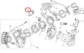 Neco Abruzzi 125cc EFI - EFI Relais (nr. 14) - (MJ08-11412-00)