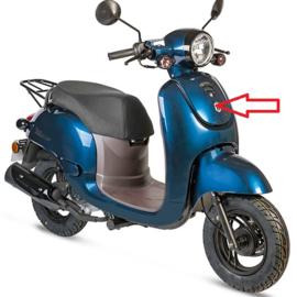 BTC Milano - Middenkap (voor in de voorkap) - Kleur: blauw