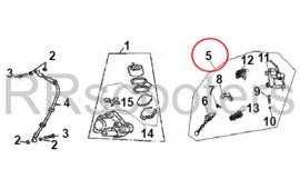 ZN50QT-F (Bellagio) - Rempomp RECHTS - GT F7 50-010401