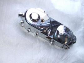 kickstartdeksel / variodeksel links chroom 10 inch. / Carterdeksel (VAK D-7)