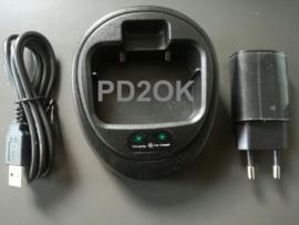 Inrico T320 / T298(s)n)) - Desktop charger / Bureau lader