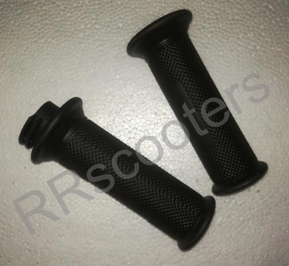 BTC Bellagio - handvaten set (zwart) - geschikt voor scooters met balanceergewichten - (VAK V-1)
