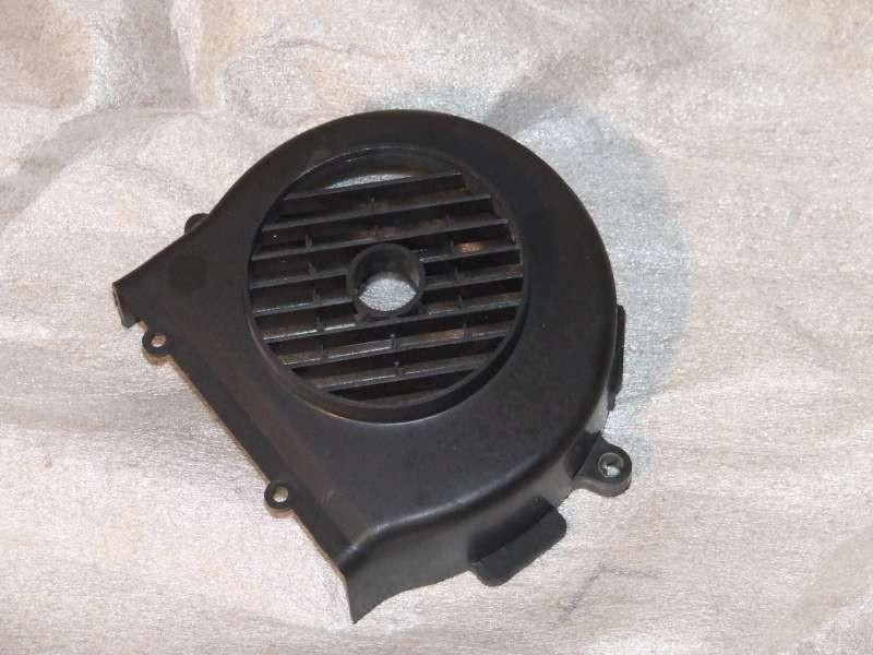 Motorbeplating koelkap vliegwiel, zwart kunststof (VAK C-24)