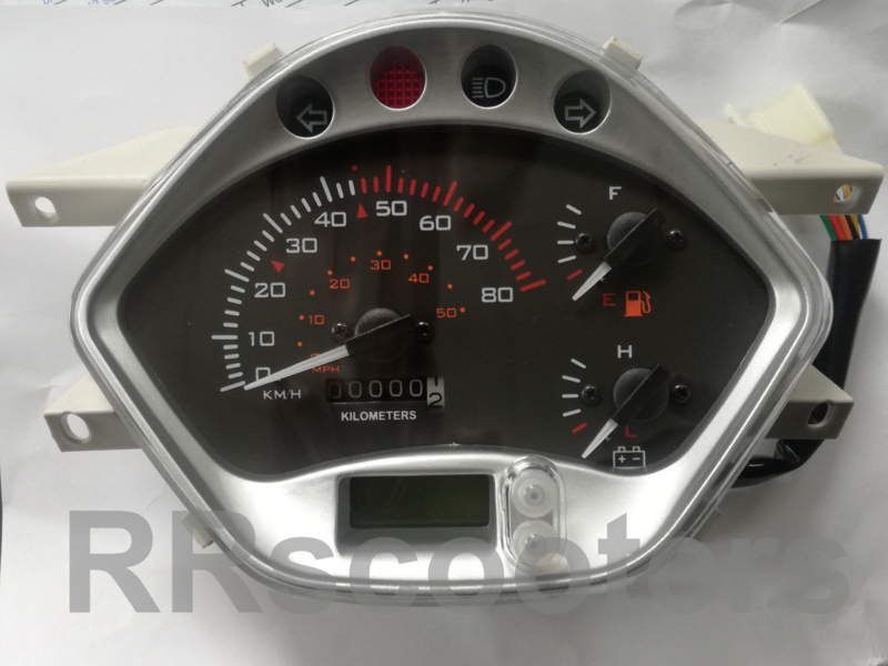 China LX -  MET Voltmeter voor de China Euro 2/3 - (VAK E-39)