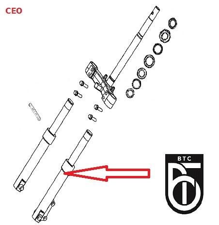 BTC CEO  50 - Schokbreker LINKS nr: 133 - (1.10.22.C1210428)
