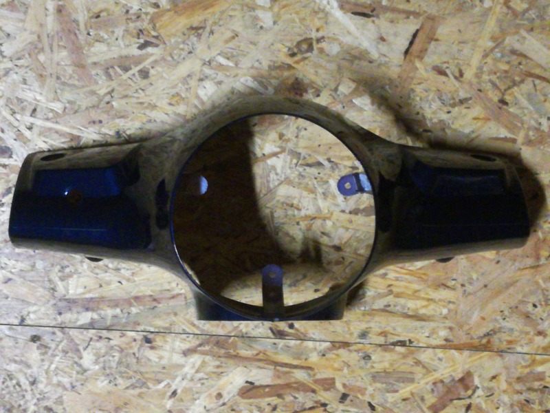 Kappen - China LX -  Stuurkap Koplamp - Kleur: Donker Blauw (VAK Z / 61-01)