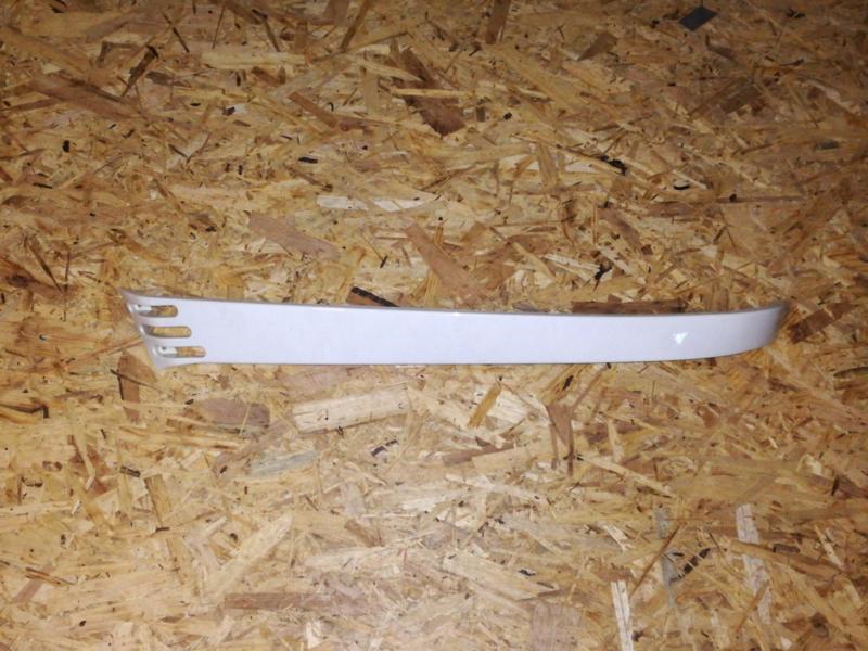 Kappen - China LX -  Side Skirt Links onder Achterscherm- Kleur: Wit (VAK Z / 61-01)