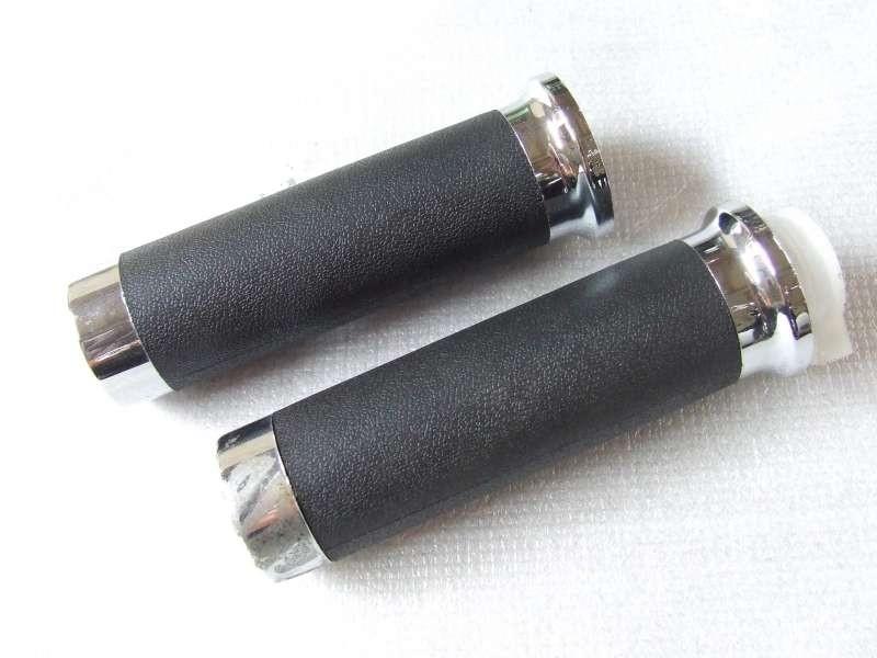 1 + 29 - Handvat zwart set links en rechts (VAK B-96 + B-97 + C-43 + C-44)