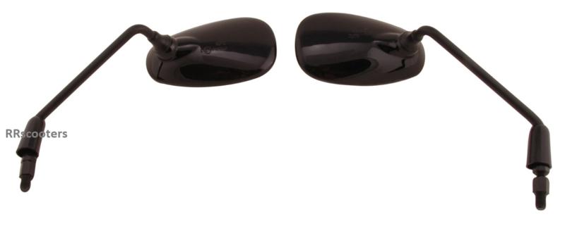 17 + 27 - Spiegel links en rechts (zwart) -(vD_081285)