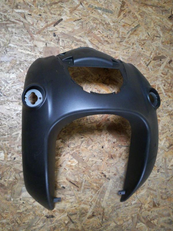 5 - Retro - kappenset, voorfront/voorkap, grote grille, kleur: mat zwart/mat antraciet