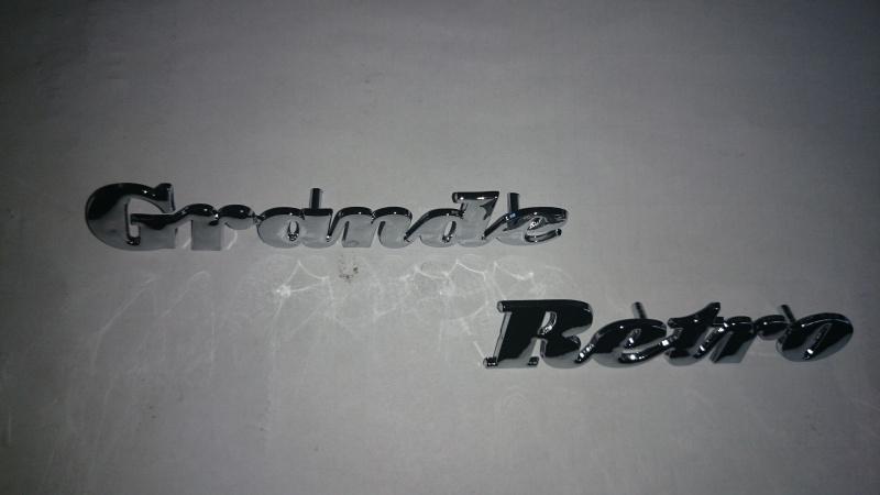 """Logo """"Grande Retro"""" (klik-uitvoering) (VAK B79-A)"""