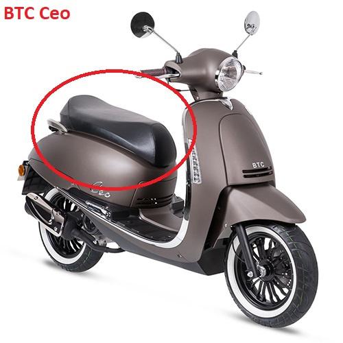 BTC CEO 50/200 - Zadel (zwart)