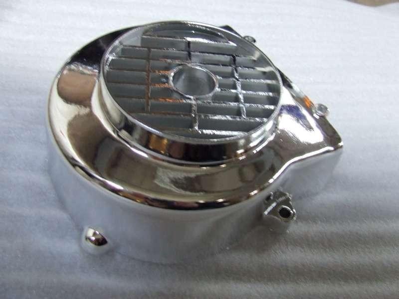 19 - koelkap, vliegwiel chroom (VAK E-69)