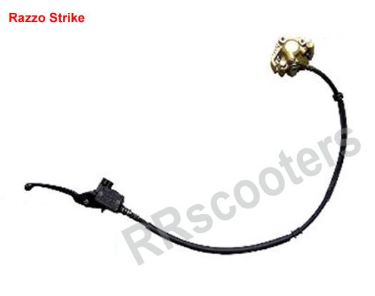 Razzo Strike - Voor rem (remreservoir, remhendel, remslang, remklauw) - 404000-TA9O-0000