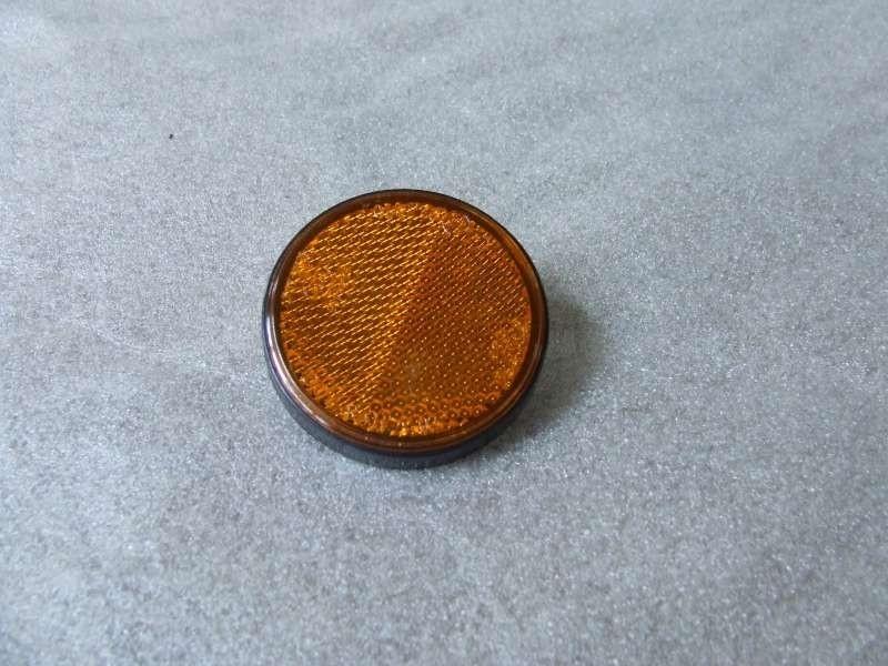 Reflector rond oranje (VAK B-34 + W)