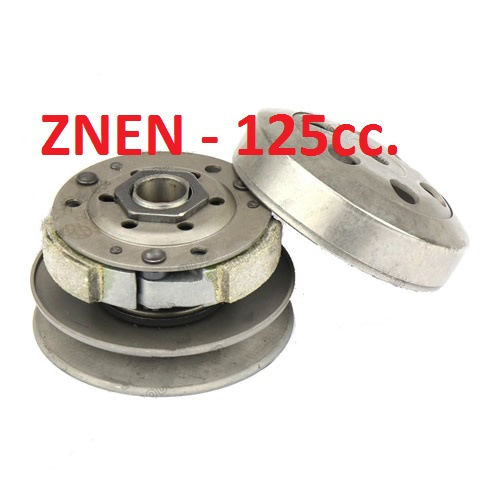 KOPPELING compleet - 125cc  - ZNEN (M_88379)