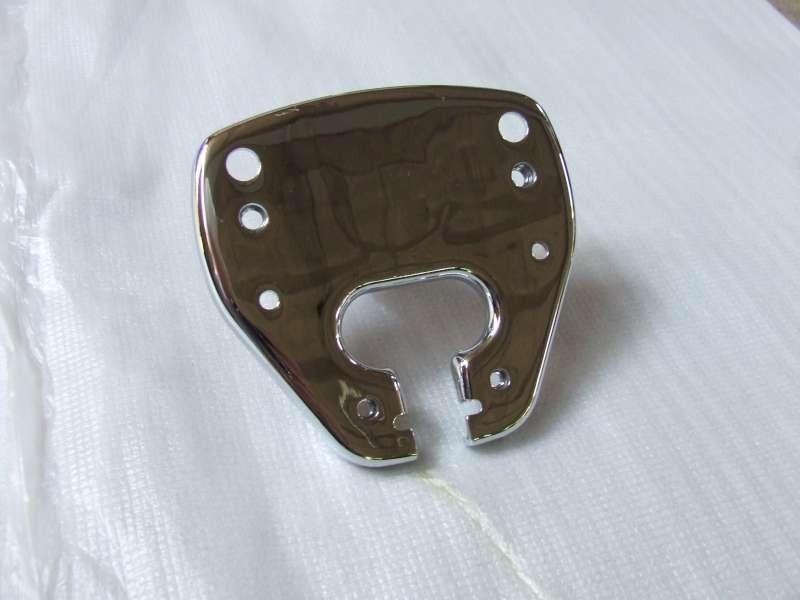 chroom onderplaat voor stuurbevestiging (VAK C-70)