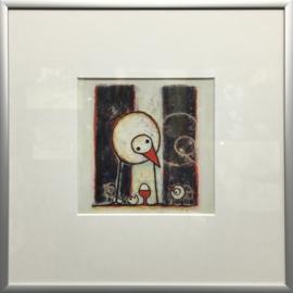 """Hans Innemee kunstdruk met lijst """"Mutual Surprisement"""""""