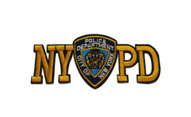 NYPD ( New York City Police Department ) Badge Strijk Patch