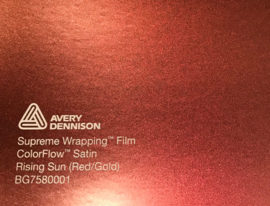 Avery SWF Wrap ColorFlow Satin Rising Sun ( Red/Gold)