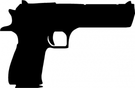 Desert Eagle sticker