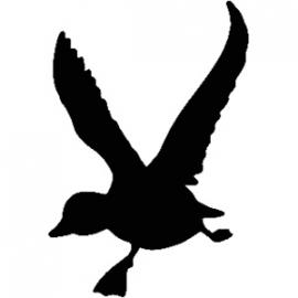 Eend Motief 1 sticker