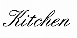 Kitchen Sticker