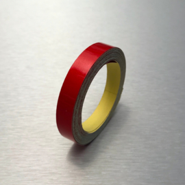 Reflecterende Contour Tape Rood 1 cm |  5 Meter
