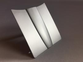 10 x 152 cm Mat Zilver Wrap folie