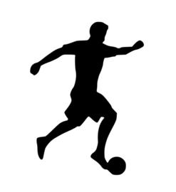 Voetbal Sticker Motief 6