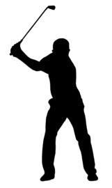 Golf Sticker Motief 1