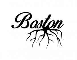 Boston Roots sticker