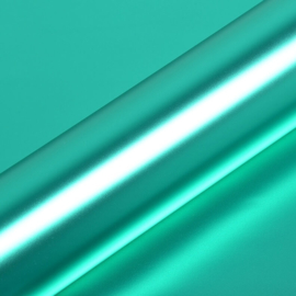HEXIS Super Chrome Turquoise Satin