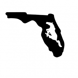 Florida State Mustang sticker