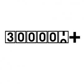 300000+ sticker
