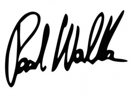 Paul Walker handtekening Sticker Motief 1