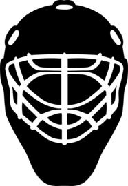 Hockey Masker Sticker