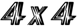 4x4 Motief 7 Sticker