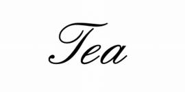 Tea Motief 1 Sticker